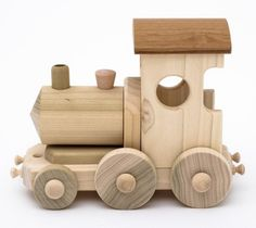 An easy to make train engine: More
