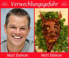 matt damon vs. mett dämon