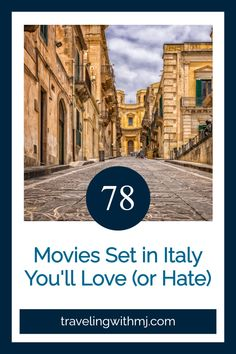 We can't travel to Italy right now, so get your Italian culture fix with these 78 movies set in Italy. Movies Set In Italy, Top Travel Destinations, Wanderlust Travel, Luxury Travel, Italy Travel, Mj, Travel Guides, Trip Planning, Places To Visit
