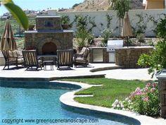 Outdoor Kitchens  The Green Scene  Northridge, CA