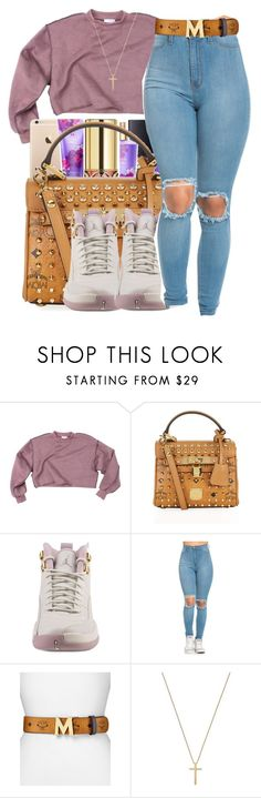 """Share my world💓🌎"" by maiyaxbabyyy ❤ liked on Polyvore featuring MCM, NIKE and Gucci"
