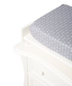 Lolly Gags Gray & White Arrow Changing Pad Cover | zulily