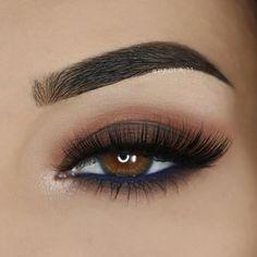 ___ ♡ Eyeshadows: @morphebrushes 35O palette  ___ ♡ Lashes: @pinkygoatlashes in 'Gharam' ___ ♡ Liner: @doll10beauty Aqua Gel Eyeliner in 'Denim' (waterline) ___ ♡ Brows:  @anastasiabeverlyhills DipBrow in 'Dark Brown'