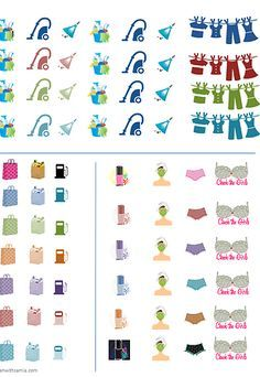 FREE printable planner stickers | Plan with samia | FREEBIES