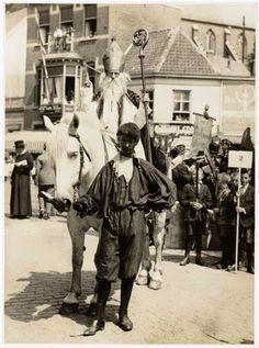 Sinterklaas en Piet, 1929 Tilburg