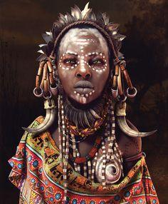 Femme Ethiopie