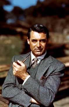Cary Grant... Fellow pipe smoker.