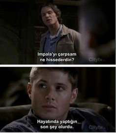 ❤ Winchester Brothers, Dean Winchester, Spn Memes, Supernatural Funny, Words, Fictional Characters, Quotes, Movies, Photography