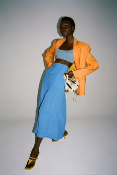 Rejina Pyo Resort 2021 collection, runway looks, beauty, models, and reviews. Vogue Fashion, Runway Fashion, Fashion Outfits, Womens Fashion, Fashion Trends, India Fashion, Fashion Weeks, Paris Fashion, High Fashion