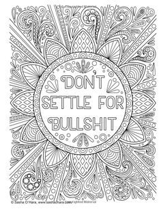 Cheer the F*ck Up: An Irreverently Positive Adult Coloring Book (Irreverent Book Series) (Volume Swear Word Coloring Book, Love Coloring Pages, Printable Adult Coloring Pages, Coloring Books, Coloring Sheets, Fairy Coloring, Free Coloring, Mandala Art, Book Series