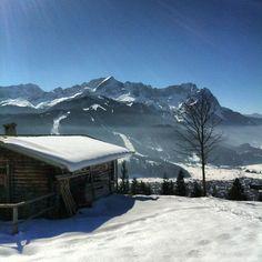 #wank #eckenhütte #panorama #fantastisch #garmisch #partenkirchen #berge #bavaria #oberbayern #zugspitze #sonne #Padgram