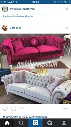 Ö Living Room Sofa, Living Room Decor, Salas Lounge, Home Theater Furniture, Colourful Living Room, Couch Cushions, Classic Sofa, Upholstered Sofa, Home And Deco