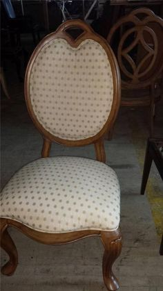 set of 2 Thomasville Furniture  Villa Soleil UPHOLSTERED side chairs 40621-881