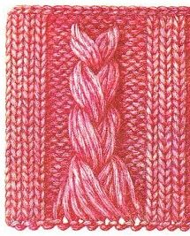 1000+ images about Knit stitch patterns on Pinterest Lace knitting stitches...