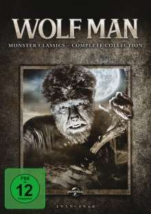 The Wolf Man: Monster Classics (Complete Collection), 6 DVDs