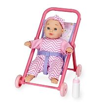 You & Me - 8 inch Mini Baby Doll with Stroller