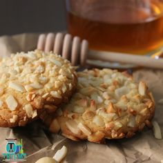 Honey Nut Biscuits - The Road to Loving My Thermo Mixer Cookie Recipe Book, Biscuit Recipe, Baking Recipes, Cookie Recipes, How To Convert A Recipe, Biscuit Cookies, Meals For One, Tray Bakes, Sweet Recipes