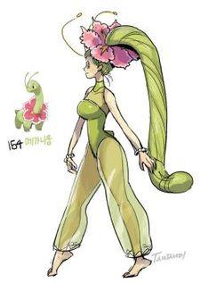 Pokemon Gijinka by tamtamdi on DeviantArt