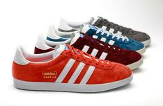 adidas Originals 2011 Fall Winter Gazelle  The simple classic design of the  adidas Gazelle has resonated with athletes, breakers and 630c977b8c