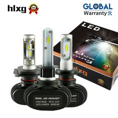 Car Lights Automobiles & Motorcycles Sporting Dongzhen Car Led Bulbs All-in-one Conversion Kit H11 H4 H7 H1 H13 H3 9006 9005 9007 880 881 Automobile Headlight Auto Parts Removing Obstruction