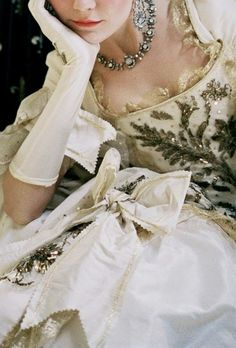 Marie Antoinette - gown - movie