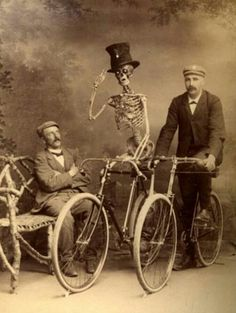 Creepy old photo.