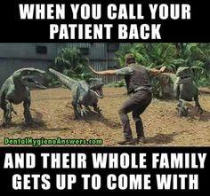 Chris Pratt has officially became awesome in Jurassic World! Jurassic World (c) Universal Studios. Humor Dental, Radiology Humor, Medical Humor, Nurse Humor, Medical Assistant, Physician Assistant, Dental Hygienist, Jurassic World, Humor Cristiano