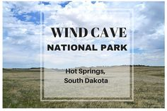 Great information about visiting Wind Cave National Park in South Dakota. Just one hour south of Mt Rushmore, this is a great stop along the way. Hiking trails, camping, picnic areas and of course, an AWESOME CAVE TOUR! Dogs are allowed on some trails and in the picnic area!
