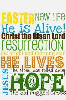 Easter Printable #free #craft #subwayart