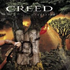 CREED, Weathered: Scott Stapp, Mark Tremonti, Scott Phillips. Released November 20, 2001; Track List: 1. Bullets 2. Freedom Fighter 3. Who's Got My Back? 4. Signs 5. One Last Breath 6. My Sacrifice 7. Stand Here With Me 8. Weathered 9. Hide 10. Don't Stop Dancing 11. Lullaby