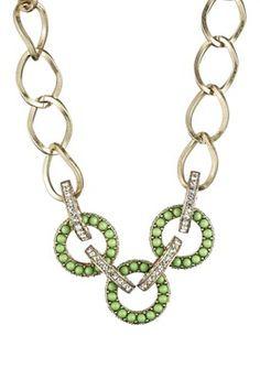 Decorative Link Necklace