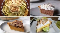 5 Pies For Your Holiday Season - YouTube