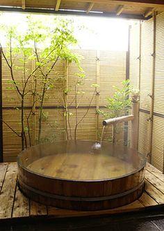 onsen style/ japanese tubs: 1-hinoki story - Google Search