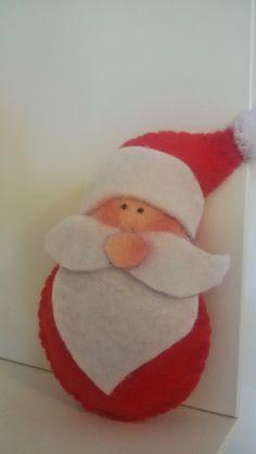 Santa Claus Filz Brosche Saison Grüße Urlaub von TinArtIdeas