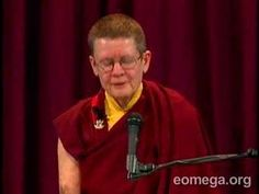 Pema Chödrön (born Deirdre Blomfield-Brown) is a notable American figure in Tibetan Buddhism. A disciple of Chögyam Trungpa Rinpoche, she is an ordained nun, author, and teacher in the Shambhala Buddhist lineage which Trungpa founded.
