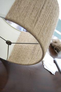 LAMPENKAPJES Verander oude suffe lampenkappen in hippe nieuwe lampenkappen gebruik hiervoor gerecyclede materialen