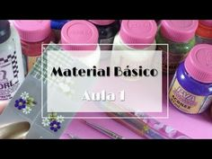 Curso adesivos artesanais - Aula 1 material básico - YouTube Natural Nails, Manicure, Nespresso, Nail Art, 1, Youtube, Nail Stickers, Basic Drawing, Classroom