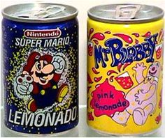 Woolworth's mini cans!