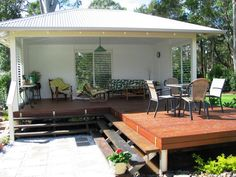hipages.com.au is a renovation resource and online community with thousands of home and garden photos - louves for the eastern wall of cabana