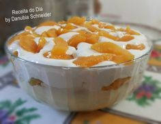Sweet Recipes, Healthy Recipes, Sugar And Spice, I Love Food, Mousse, Food Inspiration, Deserts, Food And Drink, Peach