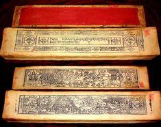 Ancient Buddhist manuscript in Tibetan (དབུ་ཅན་: u-chen script) by Mongolian scholars.