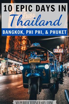 Is it your first time traveling to Thailand and want to see as much as possible?! In this 10 day Thailand itinerary I detail the best things to do in Bangkok, the best temples in Bangkok, Floating Markets in Thailand, Island hopping in Koh Phi Phi, maya Bay, and so much more! #thailand #asia #travel Thailand Travel Guide, Asia Travel, Japan Travel, Wanderlust Travel, Luang Prabang, Laos, 10 Days In Thailand, Travel Guides, Travel Tips
