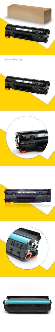 5PCs CE278A 278A Replacement Toner Cartridge Compatible for HP Laser Printers P1566 P1606 P1606N P1606DN