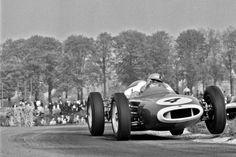 GP Brussels 1961: Bruce McLaren in the Heyselpark