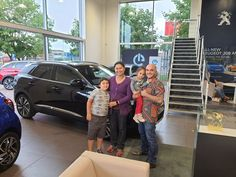 Mr Haghighat-Pajooh and his family have traded in their previous 3008 Allure and have this time chosen a top of the range 3008GT Hybrid4 for its great performance and Focal Sound system! Enjoy! Peugeot, Range, Top, Cookers, Crop Shirt, Shirts