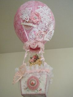 Shabby Chic Hot Air Balloon