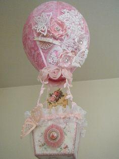 Shabby Chic Hot Air Balloon