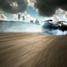 Drifting car wallpaper