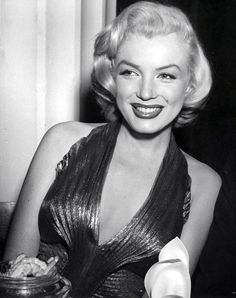 Marilyn Monroe attending the Photoplay Awards at the Beverly Hills Hotel, 1953.