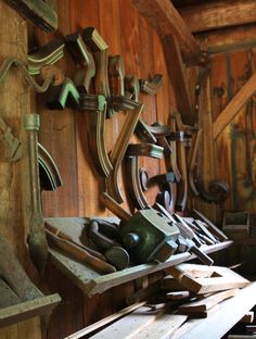 Old Woodwork Shop, WI. D.Dryant